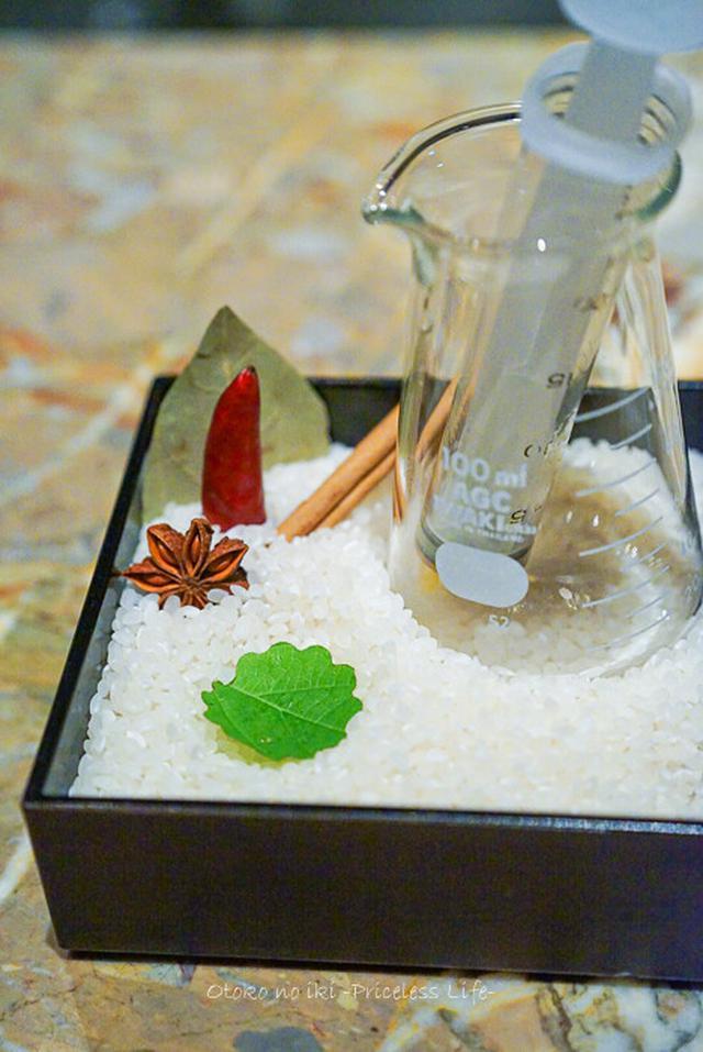 画像: タパス モラキュラーバー(三越前)マンダリンオリエンタルの分子ガストロ