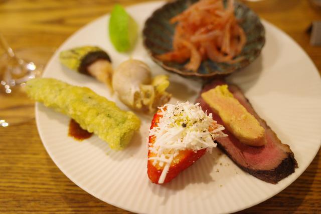 画像: 【八丁堀】ワインにぴったりの魚介を使った料理がどれも絶品。キュートなビストロ「フレンチ割烹 kamenote」