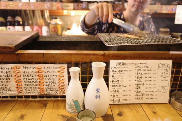 画像: 【博多】目の前の炭火で焼き上げる新鮮な鶏や野菜が美味しい「炉ばた雷橋」