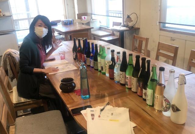 画像: 日本酒テイスティング