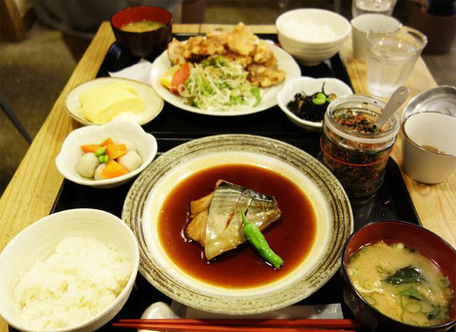 画像: 【福岡】博多駅前でゴマサバ定食ランチ♪@梅山鉄平食堂 博多店