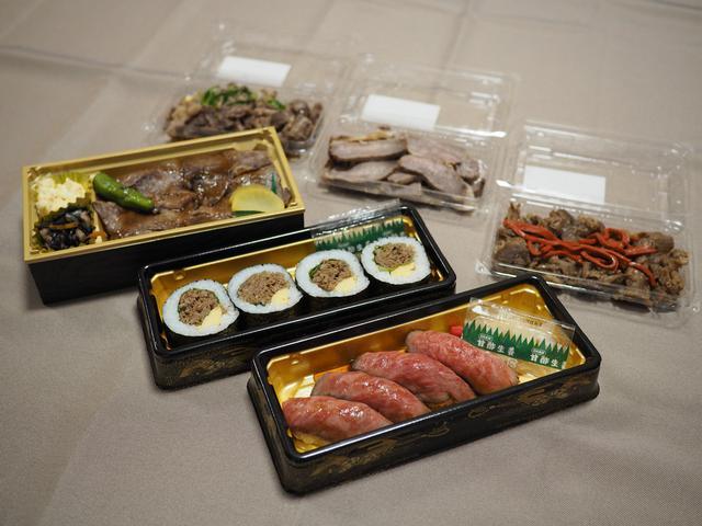画像: 近江牛の中でも最高級品質で何度も日本一に輝いた『近江亀井牛』のお寿司やお肉が期間限定でテイクアウトできます! うめだ阪急本店 「肉匠 煌」