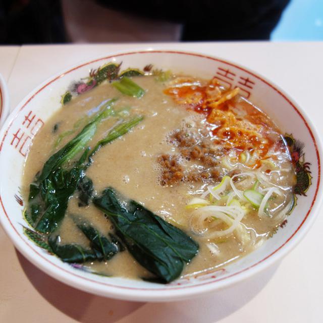 画像: 【福岡】ビーガン×担々麺×博多ラーメンも出たよ♪@博多拉担麺 まるたん 天神店