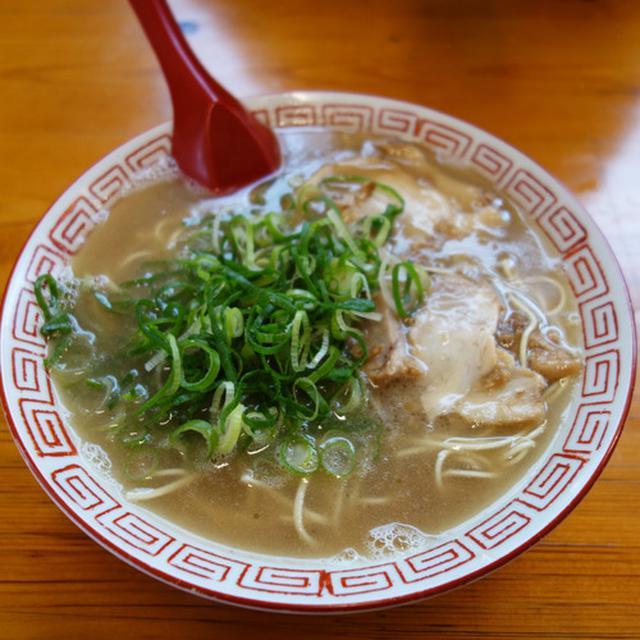 画像: 【福岡】洗練され過ぎてない地元の美味い濃厚豚骨♪@七福亭