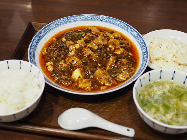 画像: 毎日行列ができる大人気店で神のタイミングで全く待たずに大好きな四川麻婆豆腐が食べられました! 福島区 「中国菜 オイル」