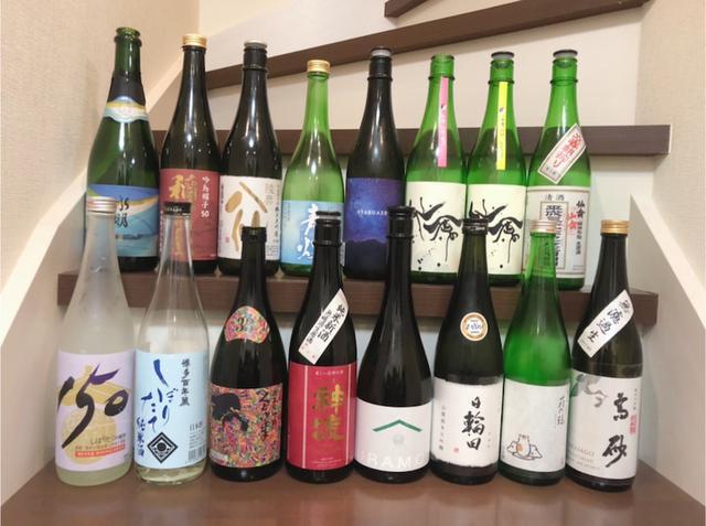 画像: 日本酒持ち込み会♪