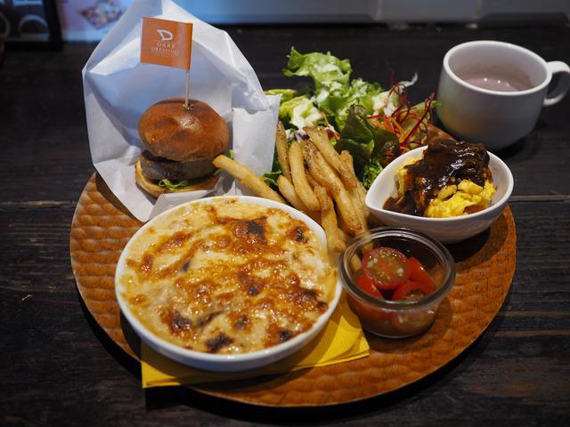 画像: 色んな洋食が一度に食べられるお得なスペシャルランチプレート! 京橋 「ガーブ ドレッシング 京橋」