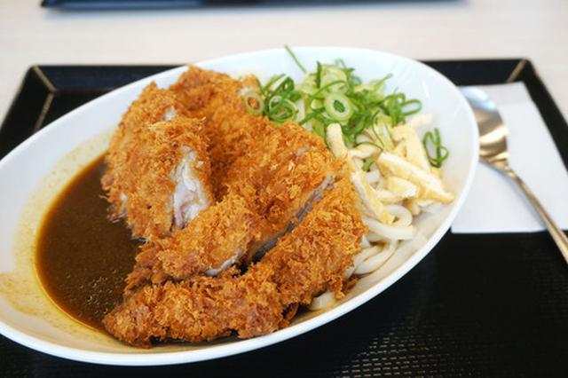 画像: 【福岡】和風カレー!チキンカツカレーうどん♪@かつや 福岡野多目店