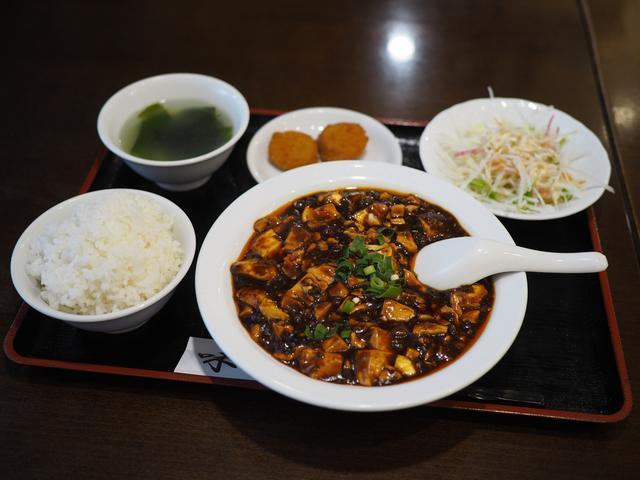 画像: 偶然入った町中華の麻婆豆腐定食は美味しくてボリュームがあって抜群のコスパでした! 南森町 「中華料理 味道」