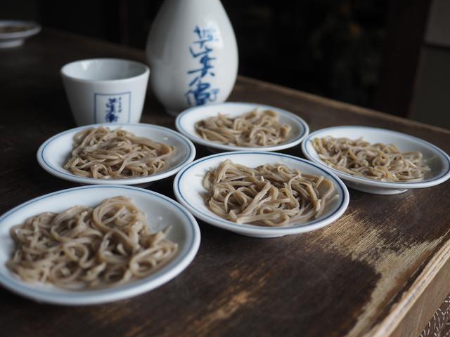 画像: 老舗の皿そばのお店で美味しすぎて食べすぎてしまいました(^^ 兵庫県豊岡市 「手打皿そば 甚兵衛」