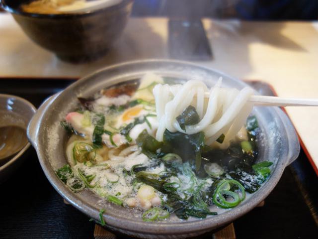 画像: 【福岡】鍋焼きうどん&いか天うどん♪@大助うどん 別府店