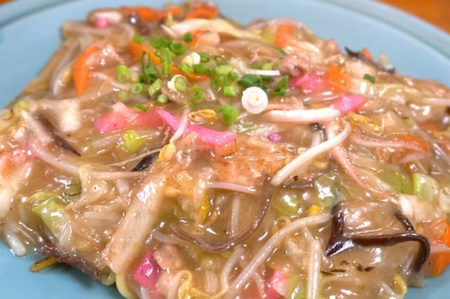 画像: 【長崎】諫早の中華食堂で皿うどん♪@李花