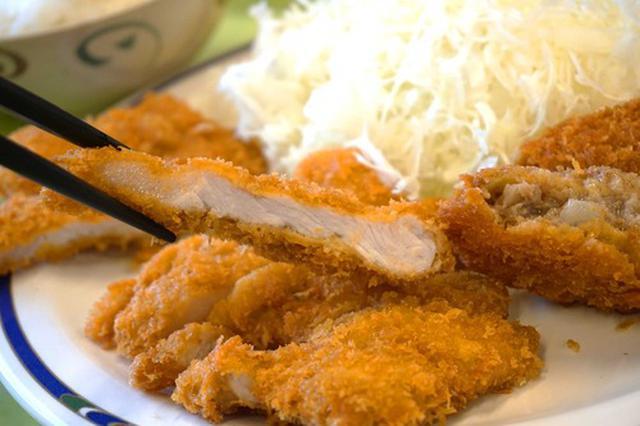 画像: 【福岡】トンカツ&メンチカツ定食♪@とんかつ大将 筑紫通り店
