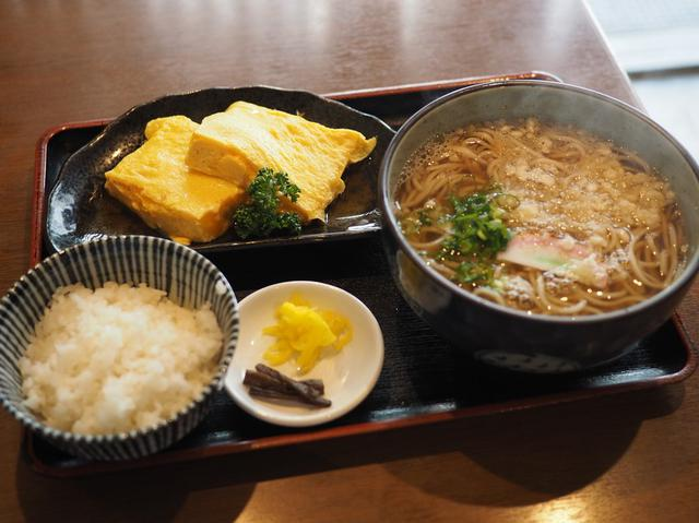 画像: 梅田のど真ん中にある創業100年以上の老舗お蕎麦屋さんの絶品出汁巻き定食! 梅田 「みす美」