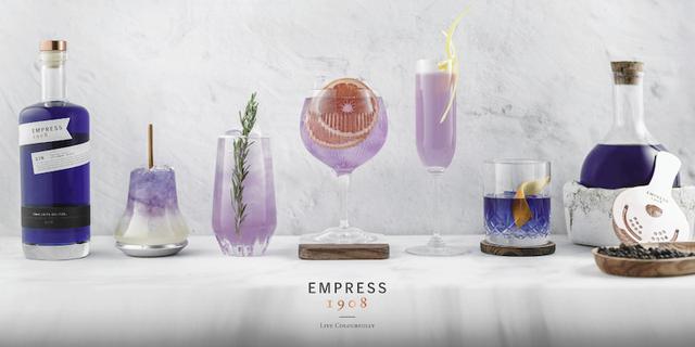 画像: エンプレス 1908 ジンで実現する 魅了のカクテル