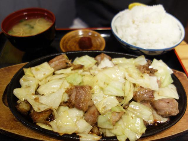 画像: 【福岡】ソウルフードの博多鉄板焼肉定食♪@竹ちゃん亭 博多バスターミナル店