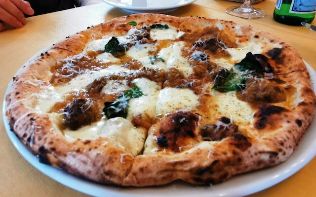 画像: 3月に下高井戸トニーノで食べたナポリを満喫するランチ