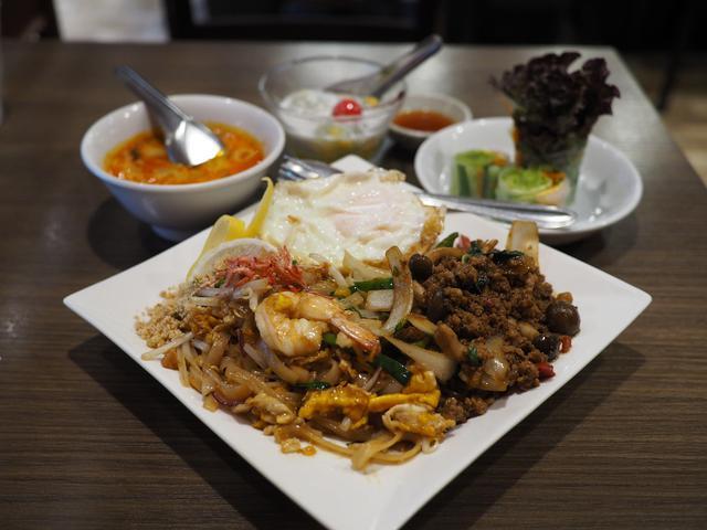 画像: タイ人シェフによる超本格的な味わいのタイ料理のスペシャルランチセットは満足感が高すぎます! 梅田 「クンテープ ルクア大阪店」