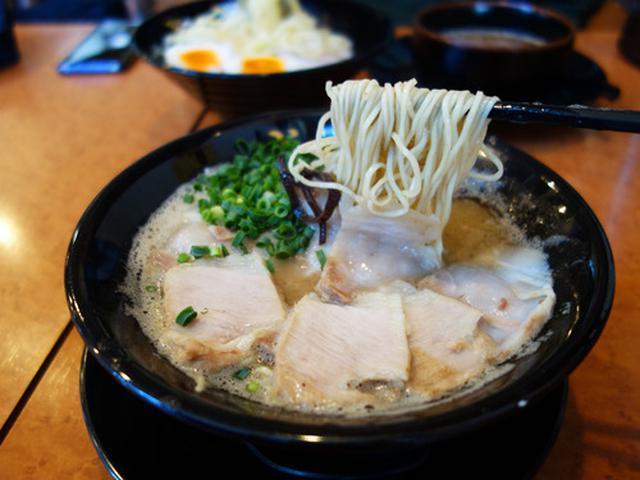 画像: 【福岡】濃厚泡豚骨店の魚介つけ麺&チャーシューメン♪@博多 一成一代