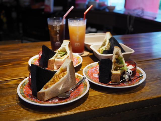 画像: 本格中華料理をパンでサンドした珍しい中華サンドイッチの専門店バー! 京橋 「点心バー クンフーキック」