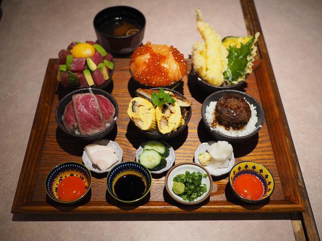画像: 色んな丼やチラシがちょこちょこたくさん食べられる贅沢で楽しい御膳が発売になりました! 玉造 「活旬 大枡」