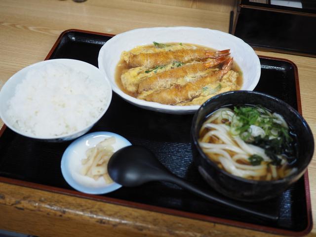 画像: うどんもお出汁も絶品のお店でありそうでなかったえび玉定食! 東大阪市 「ひらの屋」