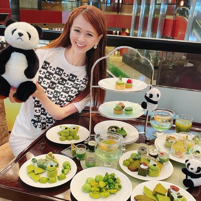 画像: 抹茶スイーツとパンダの世界〜ANAインターコンチネンタル東京