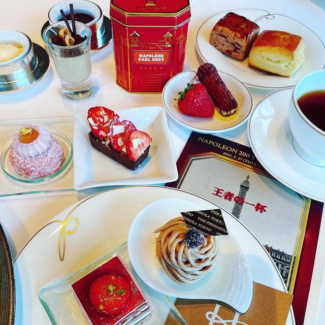 画像: ザ・ペニンシュラ東京アフタヌーンティーと NINAS 紅茶