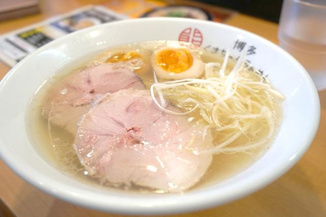 画像: 【福岡】クリアとんこつ&濃厚つけ麺♪@博多くまちゃん らぁめん 春日店