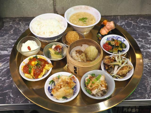 画像: 本格台湾料理が全12品も楽しめる豪華で満足感が高すぎる贅沢御膳ランチ! 梅田 「台北餃子 張記 茶屋町店」