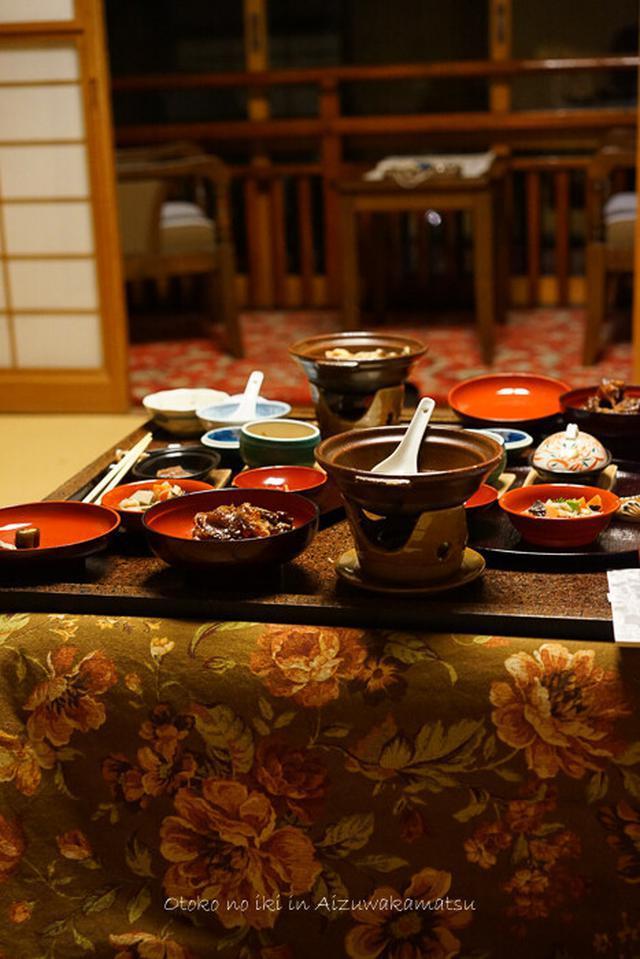 画像: 向瀧のゆうごはん(会津若松)老舗温泉旅館の安定感