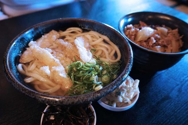 画像: 【福岡】うどんと丼ランチセット♪@あずみうどん 大刀洗本店