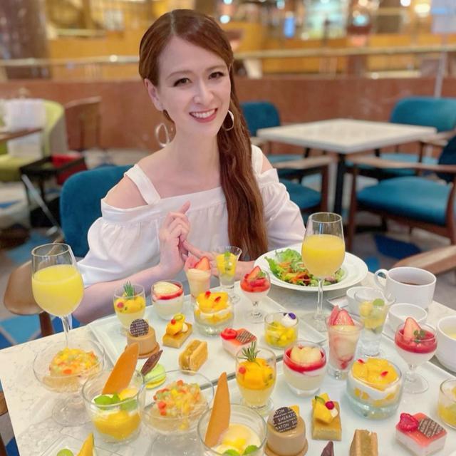 画像: 横浜ベイシェラトン ホテル&タワーズ♡ピーチ&マンゴー スイーツブッフェ