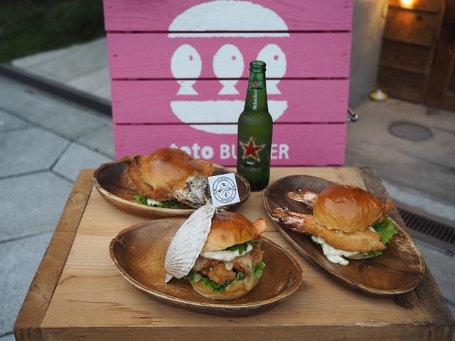 画像: 実家のお魚屋さんから仕入れた鮮度抜群の魚を使った魚バーガー専門店! 玉造 「toto BURGER(トトバーガー)」
