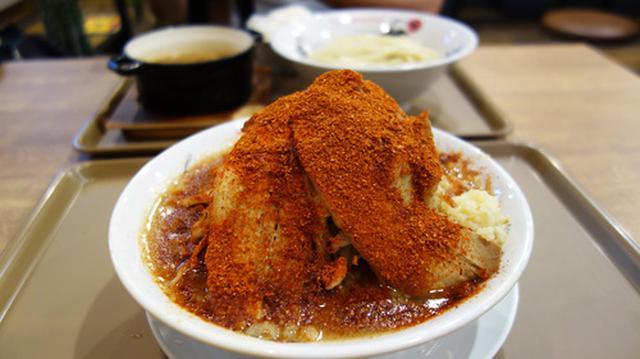 画像: 【福岡】魚介豚骨濃厚つけ麺&天神二郎レッド♪@つけ麺・ラーメン・まぜそば フジヤマ55 福岡天神店