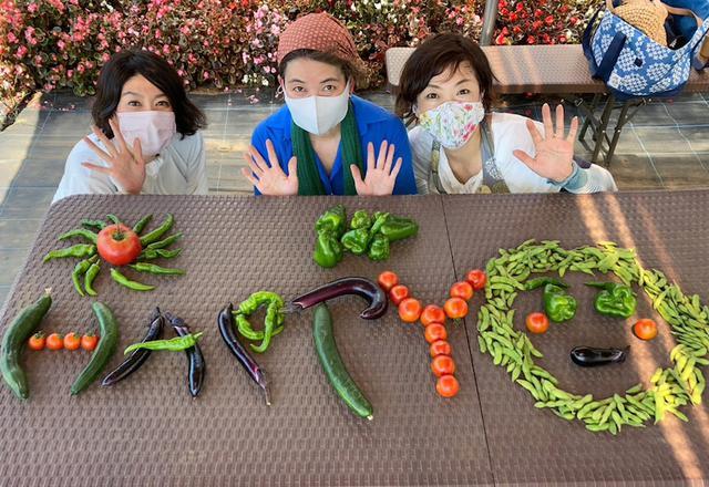 画像: 夏野菜だよ!全員集合〜友達が農園にやってきたの巻