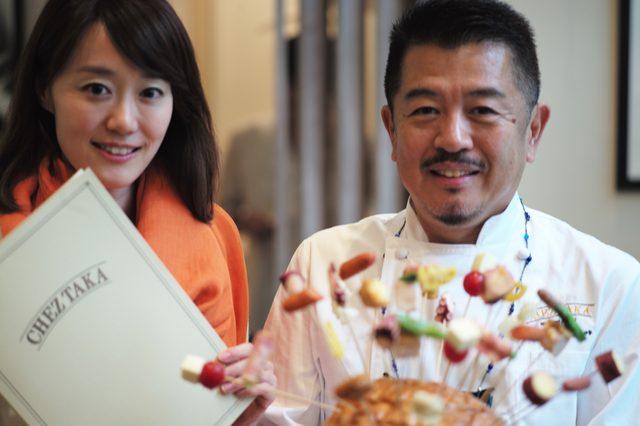 画像: シニア野菜ソムリエの中村慧子さん(左)と河合シェフ