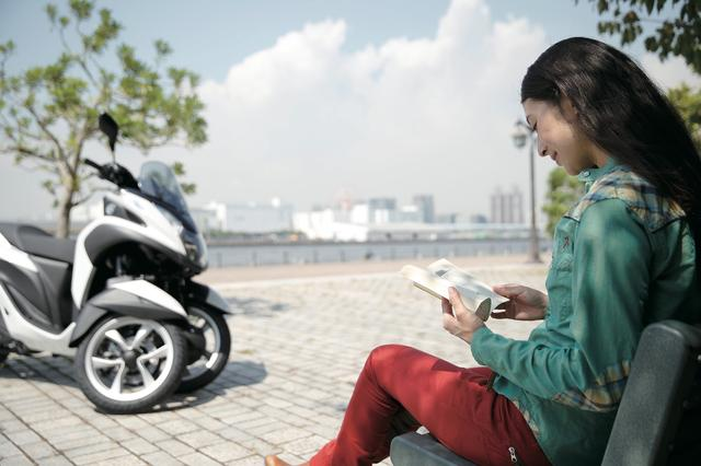 画像4: 私の毎日、トリシティのある生活 〜女子的充実バイクライフに見るトリシティ活用術〜