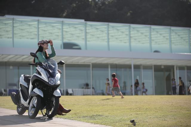画像3: 私の毎日、トリシティのある生活 〜女子的充実バイクライフに見るトリシティ活用術〜