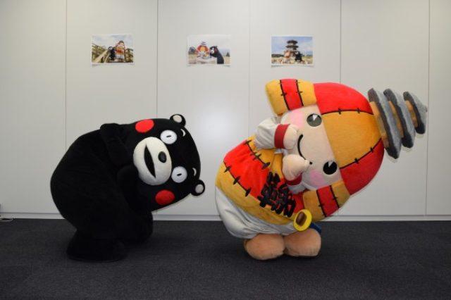 画像: くまモン、KADOKAWA本社に現る! 好きなかき氷はブルーハワイ!?