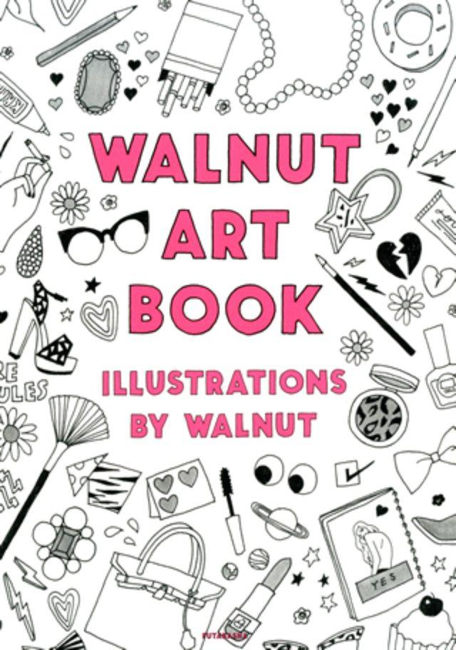 """画像: 木村カエラ「初めて見たときから彼女のARTにメロメロです」イラストレーター""""WALNUT""""初のアートブック発売"""