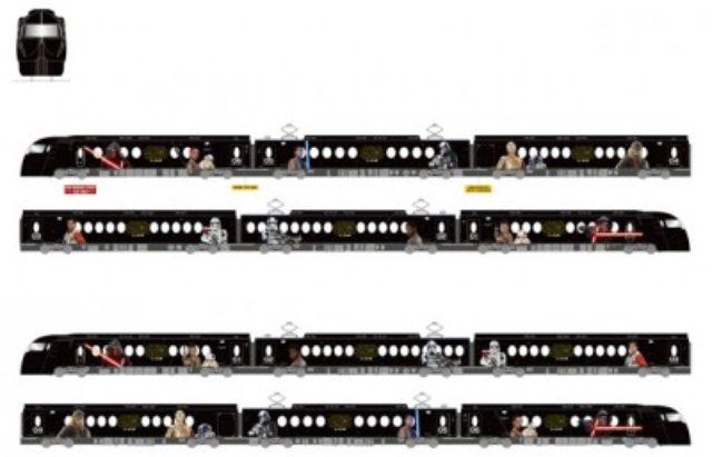 画像: 南海電鉄特急ラピートが『スター・ウォーズ』仕様に!