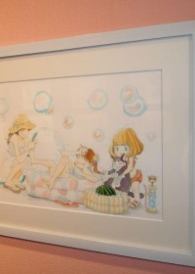 画像: 神木隆之介着用の制服も!150点以上の原画を展示した「羽海野チカの世界展」
