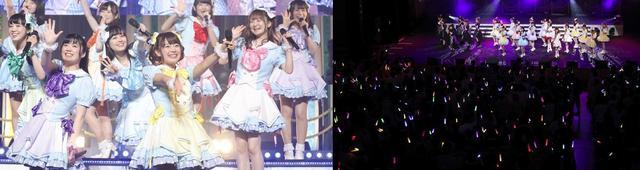 """画像: 「温泉むすめ」3rdライブで新生SPRiNGS、AKATSUKI、LUSH STAR☆、Adharaの""""最強""""4ユニットが共演!"""
