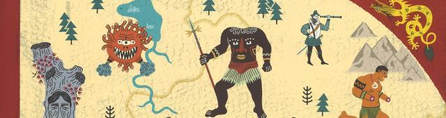 画像: モンスターだらけの世界旅行!? 16世紀の詩人が遺した絵地図で出会う、224のモンスターたち