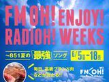 画像: FM OH! ENJOY! RADIOH! WEEKS ~ 851夏の最強ソング 6月5日(月)~18日(日) - FM OH! 85.1