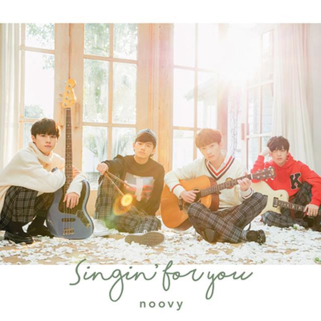 画像: 日本 2nd single「Singin' for you」 / noovy (2018年2月7日発売) ・【初回生産限定盤】CD+DVD SRCL-9655~9656 ¥1,800(税込) ・【通常盤】CD SRCL-9657 ¥1,400(税込)
