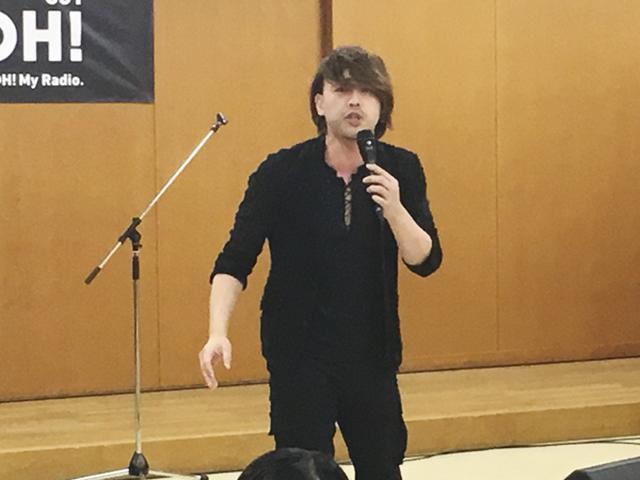 画像: 熱いステージを繰り広げた岡本隆根 ameblo.jp