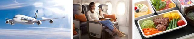 画像: シンガポール航空エアバスA380/プレミアムエコノミークラス(イメージ)/なでしこスペシャル