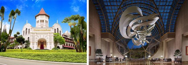 画像: グッドウッドパーク・ホテル、ザ・リッツ・カールトン・ミレニア・シンガポール